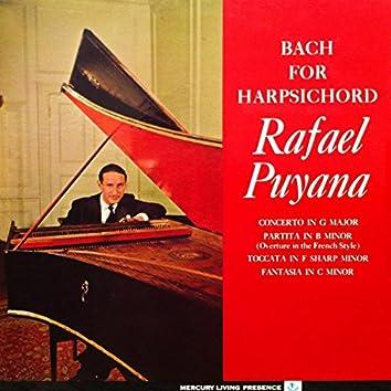 Bach for Harpsichord