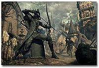 YYLPLLE Bloodborneハンタージグソーパズル木製パズル1000ピース教育ゲームチャレンジパズル
