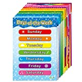 Educational Posters for Preschool Kids Classroom Learning Alphabet Numbers Shapes Colors L...