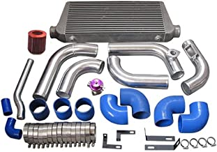 CXRacing Stock Turbo 2JZGTE 2JZ-GTE 2JZ Swap 240SX S13 S14 Intercooler Piping Intake Radiator HardPipe Kit