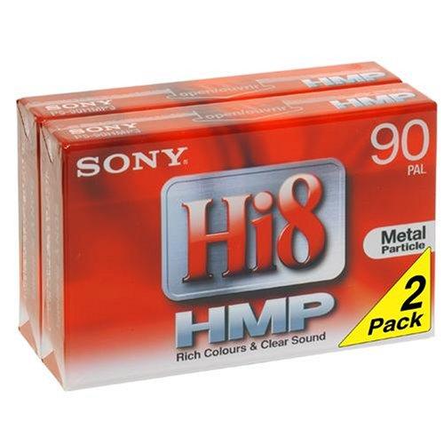 Sony P5-90 HMP Hi8-Videokassette (90 min) 2er Pack