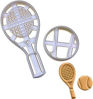 tennis racket cookie cutter