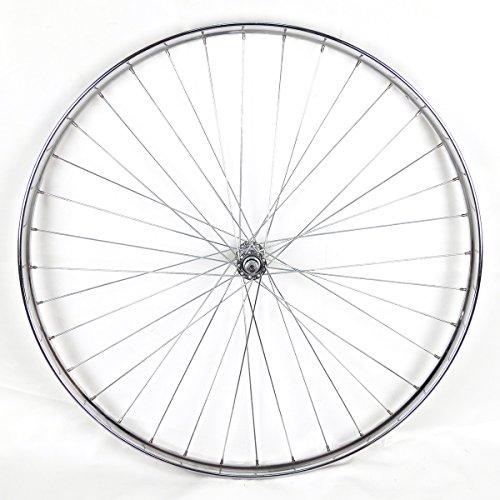 Rueda Delantera Westwood 28 x 1 ½ de Acero Cromado para Bicicleta clásica