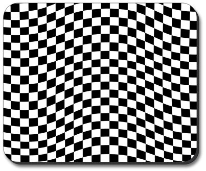 Checkered Flag Mouse Pad - by Art Plates