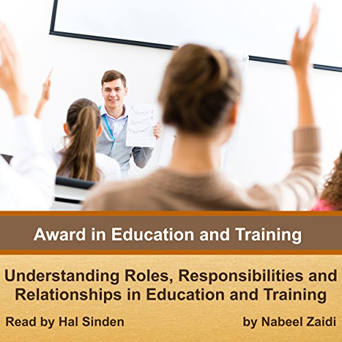 Award in Education and Training audiobook cover art