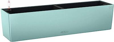 Lechuza 15705 Balconera Color 80 Pastel Green Indoor/Outdoor Planter