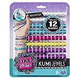 Cool Maker, set moda Kumi per creare fino a 12 braccialetti con KumiKreator, per bambine dagli 8 anni in su (i modelli variano), Multicolore, 6038304