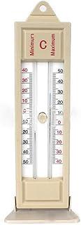 Apofly Max-min Termometro Serra Piantare Termometro Esterno Dell'interno Giardino Serra Parete Temperature Monitor per per...