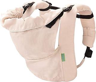 CUBY 抱っこひも おんぶ ベビーキャリア 新生児から使える5WAY 装着簡単 抱っこ紐 (オフホワイト)