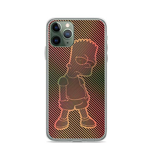 Phone Case The Simpsons Bart Simpson Compatible with iPhone 6 6s 7 8 X XS XR 11 Pro Max SE 2020 Samsung Galaxy Tested Shock Charm