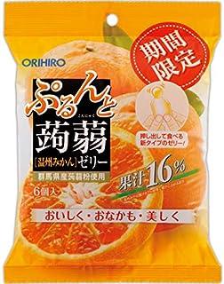 Orihiro Purunto Konnyaku Jelly Pouch Orange, 120 g
