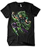 Camisetas La Colmena 4013-Broly Attack Splatter - Goku-Dragon Ball (albertocubatas) XL
