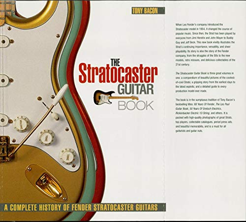 The Stratocaster Guitar Book: A Complete History of Fender Stratocaster Guitars (Guitar Reference) (English Edition)