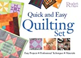 Quick And Easy Quilting Set: Easy Projects * Professional Techniques * Materials