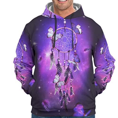 Charzee Dreamcatcher Butterfly Magic druk mannen hoodie slim fit comfortabele trui met capuchon S-5XL beste cadeau voor kinderen