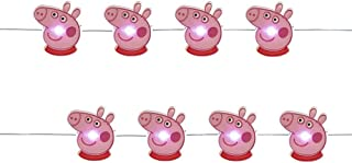 Kurt Adler 20 LED Peppa Pig Fairy Lights