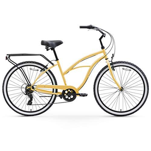 51V19eCSEuL. SL500 Schwinn Perla Womens Beach Cruiser Bike