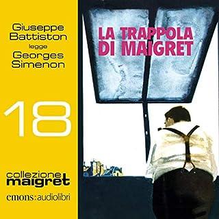 La trappola di Maigret copertina