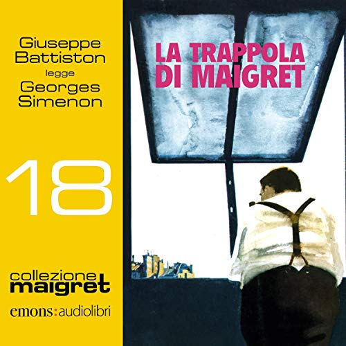 La trappola di Maigret audiobook cover art