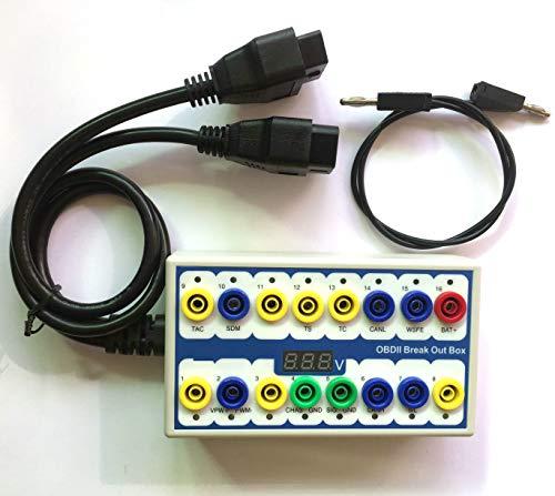 OTKEFDI OBD Detektor Breakout Box,CAN Data Line Singal