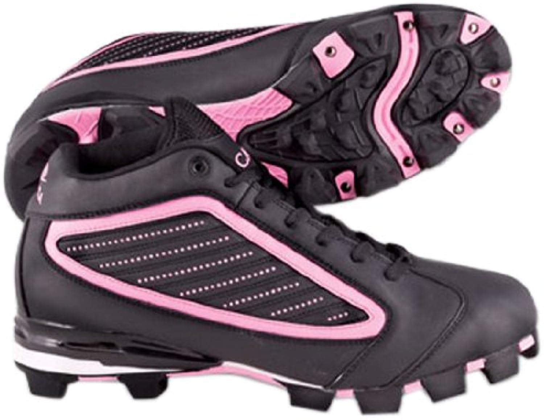 ACACIA Pink DiamondMid Baseball Softball shoes