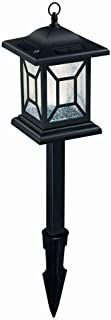 Hampton Bay Outdoor Diamond Solar Led Lant 33.25