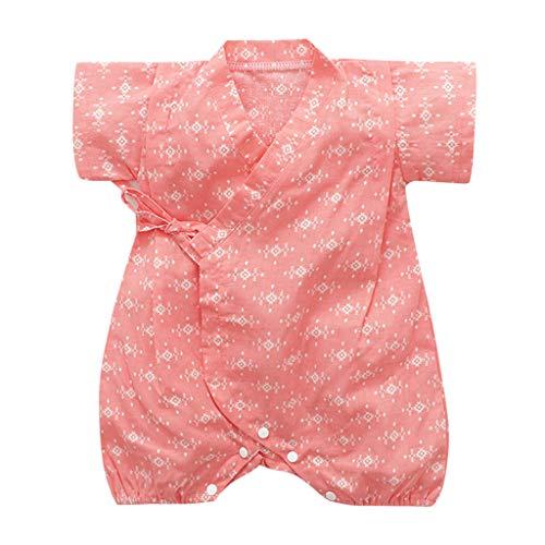 Body de manga corta con flores para recién nacidos, para niño, para niña, con ropa negro naranja Talla:6-9 meses
