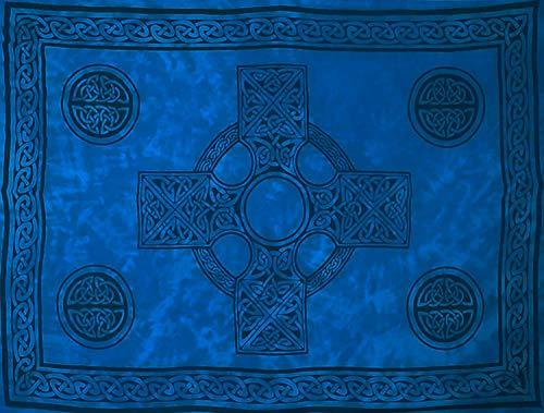 Celtic Cross Sarong (Blue)