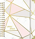2021-2022 Planner - Academic Weekly & Monthly Planner with Tabs and Thick Paper, Back Pocket with 15 Notes Pages + Gift Box - 8' x 10'