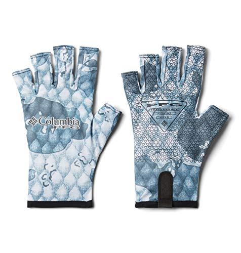 Columbia Unisex Terminal Tackle Fishing Glove, Tarpon Camo, Small/Medium