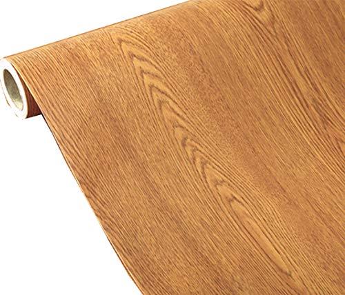 Papel pintado de grano de madera para encimera, papel de papel, pegatinas decorativas de vinilo, 40 x 200 cm