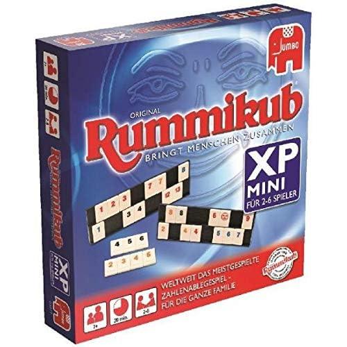 Jumbo 03977 - Original Rummikub Mini XP, Juego de Mesa, de 2 a 6 ...