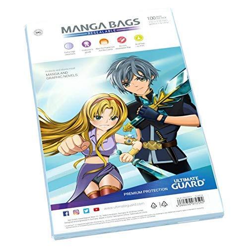 Ultimate Guard UGD020011 - Comic Bags Manga Size (100)