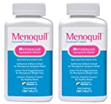 Menoquil - Menopausal Symptom Relief (120 Tablets/Bottle) (2)