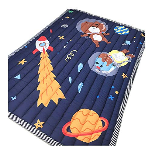 Best Review Of JIANGXIUQIN Baby Play Mat Environmental Baby Sleeping Mats Baby Play Mat Cotton Soft ...