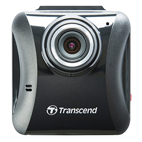 Transcend DrivePro 100 compacte camera incl. 16GB microSDHC geheugenkaart (Full HD, 6,1 cm (2,4 inch) kleurendisplay) zwart, Zuignaphouder, zwart