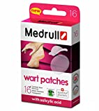 Medrull Wart Plasters - 16 Wart Remover Patches | 16 Pieces: 4 Pieces