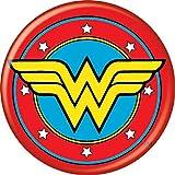 Ata-Boy DC Comics Wonder Woman Logo Colección de accesorios - Rojo - Talla única...