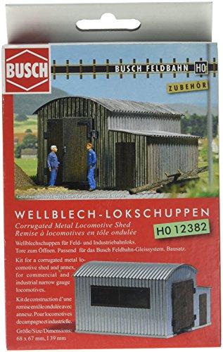 Busch Feldbahn Rontonde en tôle ondulée H0f 12382 H0