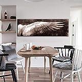 LKJHGU No Frame Angelo Vintage Poster da Parete e Stampa in Bianco e Nero Wall Art Tela Pittura Soggiorno Pop Art Wall picture40x120cm