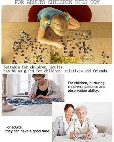 KUANGPP 1000 Teile HolzpuzzleErwachsene Kinder Spielzeug Puzzle kreatives Spiel DIY klassisches Puzzle Spielzeug kognitive Geschenk-Leseeule- 1000 PCS - 5