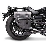 Borsa laterale 10L per Moto Guzzi V9 Bobber/Sport/Roamer nero Destra
