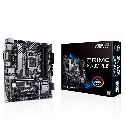 ASUS Intel 第10世代・11世代CPU(LGA1200)対応 H570 チップセット MicroATX マザーボード PRIME H570M-PL...