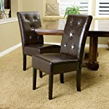 Taylor Chocolate Brown Dining Chair (Set of 2)