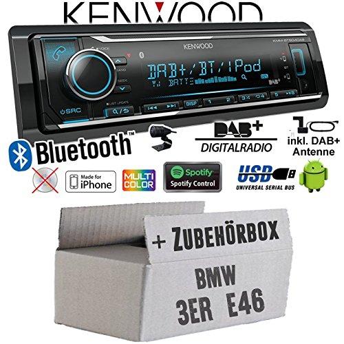 Einbauset f/ür VW Polo 9N3 Einbauzubeh/ör Bluetooth MP3 USB JUST SOUND best choice for caraudio Autoradio Radio JVC KW-X830BT