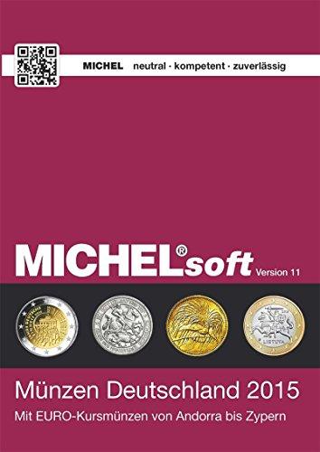MICHELsoft Deutsche Münzen 2015 Version 11: Münzen-Verwaltungs-Software für Bestands-, Fehl- oder Dublettenlisten und mehr