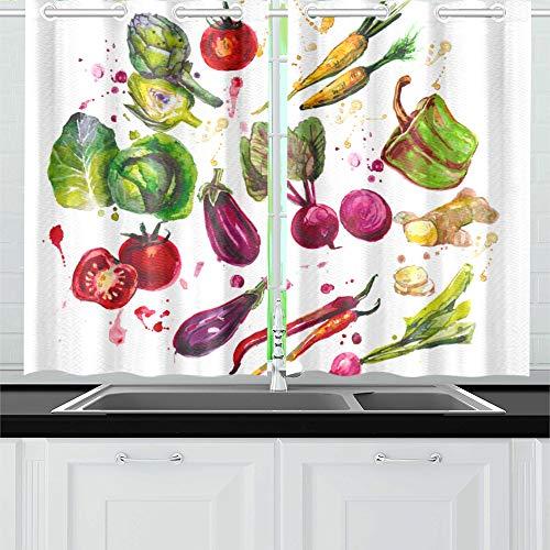cortinas cocina frutas