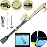 Electric Aquarium Gravel Cleaner, New Quick Pool Hoover Water Changer Auto Fish Tank Water Vacuum Gravel...