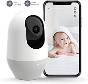 Nooie 1080P 360-degree Wireless IP Camera