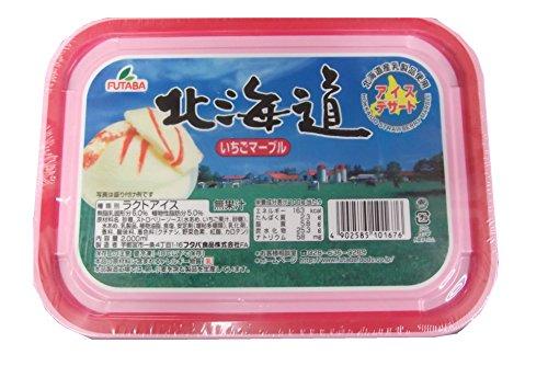 フタバ 北海道 いちごマーブルアイスクリーム 2000ml